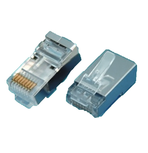 Plug 8P8C Serial  shielded Type
