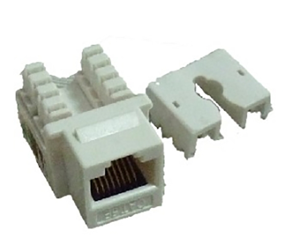 5类非屏蔽网络模块 CAT5E unshielded RJ45 Keystone Jack