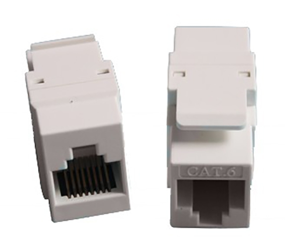 6类非屏蔽线耦合器CAT6 Unshield Lnline Coupler