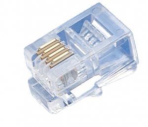 Plug 4P4C Serial  unshielded Type