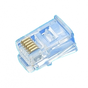Plug 6P6C Serial  unshielded Type (Long BODY)