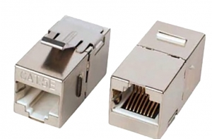 6类屏蔽线耦合器Cat.6 shield Lnline Coupler