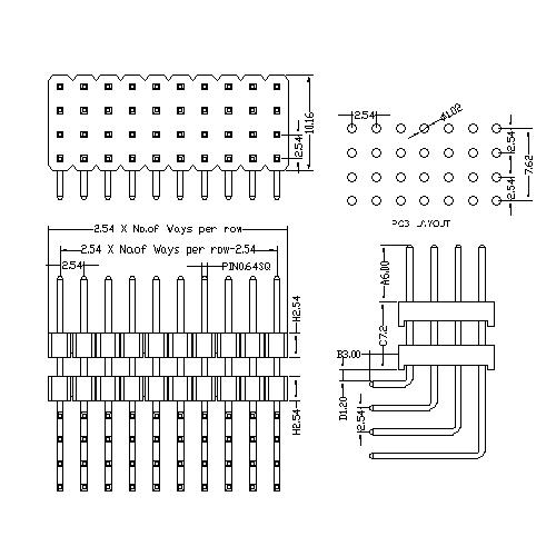 2.54 mm Pin Header Four Row Double Plastic Angle Type PHER12-XXF.jpg
